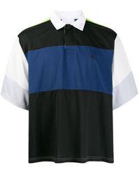 Koche カラーブロック ポロシャツ - ブラック