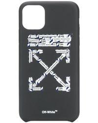 Off-White c/o Virgil Abloh Tape Iphone 11 Pro Max Case - Black