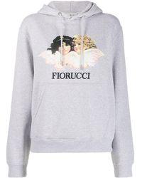 Fiorucci Felpa con cappuccio Angels - Grigio