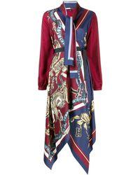 Tommy Hilfiger スカーフ ドレス - マルチカラー