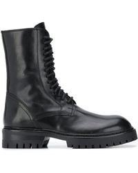 Ann Demeulemeester - Rear Lace-up Boots - Lyst