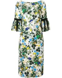 Erdem - Floral Midi Dress - Lyst