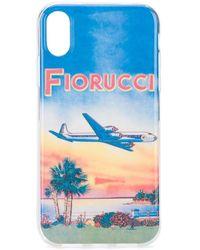 Fiorucci Sunset Iphone Xr Case - Blue