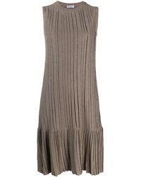 Brunello Cucinelli ニットドレス - ブラウン
