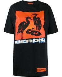 Heron Preston ロゴ Tシャツ - ブラック