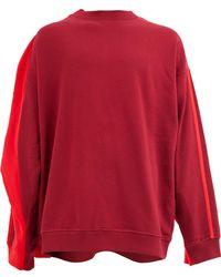 Lyst - Pull ajusté Medusa Versace pour homme en coloris Rouge 8b767ef9dab