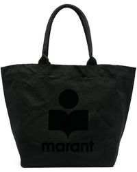 Isabel Marant Сумка-тоут С Логотипом - Черный