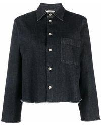 Barena デニム シャツジャケット - ブラック