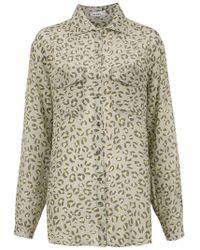 Amir Slama - Jaguar Silk Shirt - Lyst