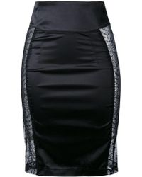 Maison Close - Villa Satine Skirt - Lyst