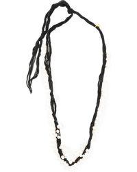 Jil Sander Pearl-embellished Necklace - Multicolor