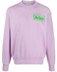 Aries - ロゴ スウェットシャツ - Lyst