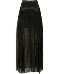 Camilla Cobra King Skirt - Black