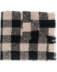 Woolrich チェック スカーフ - マルチカラー
