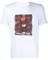 Neil Barrett グラフィックプリント Tシャツ - ホワイト