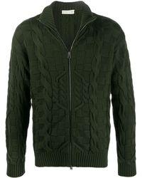 Etro Zip-up cardigan - Vert