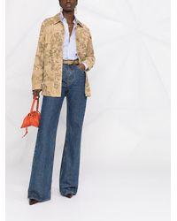 Etro Куртка С Цветочным Принтом - Многоцветный