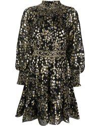 MICHAEL Michael Kors Платье Мини С Эффектом Металлик - Черный