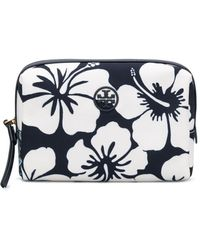 Tory Burch Trousse make up Perry - Blu