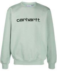 Carhartt WIP ロゴ プルオーバー - グリーン