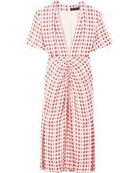 Proenza Schouler チェックドレス - ホワイト