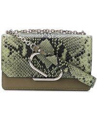 3.1 Phillip Lim Alix Chain Clutch Bag - Green