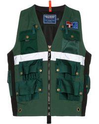 Polo Ralph Lauren Gilet à poches multiples - Vert
