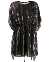 IRO - Metallic Stripe Kaftan Dress - Lyst