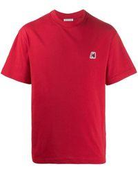 Moncler - T-shirt à patch logo - Lyst