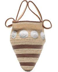 Rosie Assoulin Shell Woven Mini Bag - Multicolour