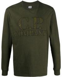 C.P. Company ロゴ Tシャツ - グリーン