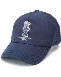 North Sails X 36th America's Cup Presented By Prada Baseball Cap - Blue