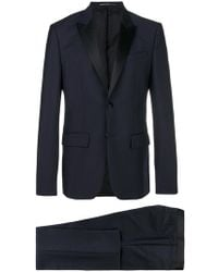 Givenchy - Regular Fit Contrasting Lapel Suit - Lyst