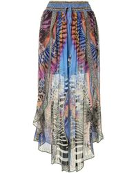 Camilla Love On The Wing Skirt - Blue