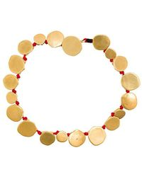 Katerina Makriyianni - Hammered Coins Bracelet - Lyst