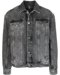Ksubi Джинсовая Куртка - Серый