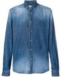 Dondup - Stonewashed Denim Shirt - Lyst