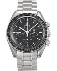 Omega Наручные Часы Speedmaster Moonwatch Professional Chronograph Pre-owned 42 Мм 2000-х Годов - Черный