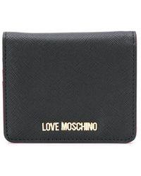 Love Moschino コインケース - ブラック