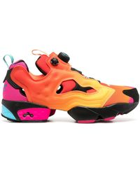 Reebok X Chromat baskets Instapump Fury - Orange