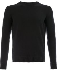 Roberto Collina Crew neck jumper - Noir