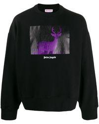 Palm Angels - Deer Print Sweatshirt - Lyst