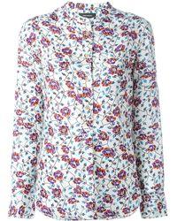 Isabel Marant Floral Blouse - Meerkleurig