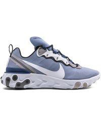 Nike React Element 55 Sneakers - Blue