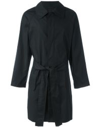 Ann Demeulemeester Grise - Belted Raincoat - Lyst