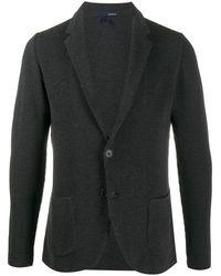 Lardini Однобортный Пиджак - Серый