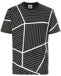 Les Hommes - Geometric Print T-shirt - Lyst