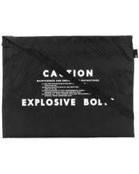Undercover - Caution Shoulder Bag - Lyst