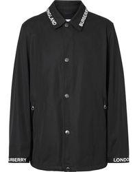 Burberry Striped Jacket - Black