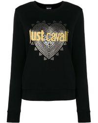 Just Cavalli - Logo Print Sweatshirt - Lyst
